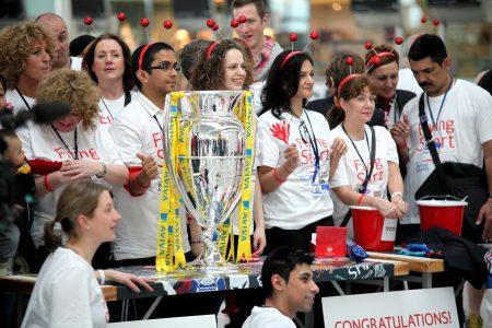 Sport Relief Launch 2012