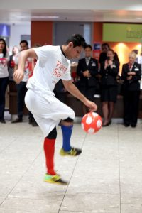 Sport Relief Launch 2012