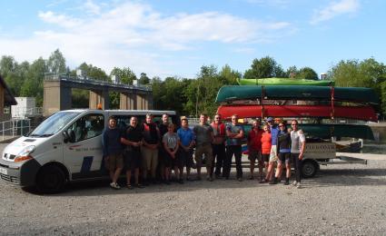 125 Mile Canoe 2011